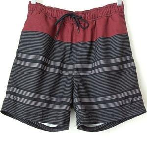 Nautica | Burgundy & Red Shorts Sz M